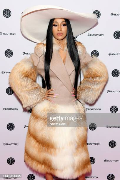 Cardi B attends Beautycon Festival New York 2019 at Jacob Javits Center on April 07, 2019 in New York City.