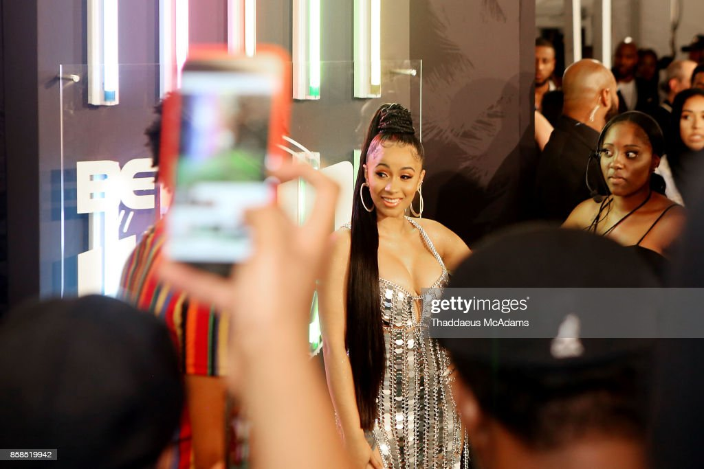 Cardi B attends BET Hip Hop Awards 2017 on October 6, 2017 in Miami Beach, Florida.