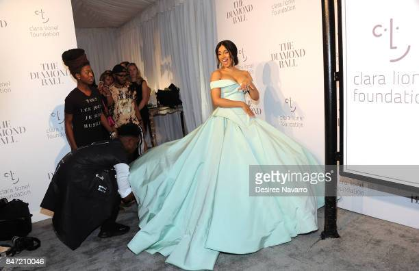 Cardi B attends Rihanna's 3rd Annual Diamond Ball at Cipriani Wall Street on September 14 2017 in New York City