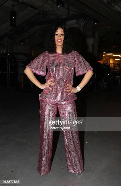 Cardi B attends Romeo Santos In Concert at Madison Square Garden on February 15 2018 in New York City