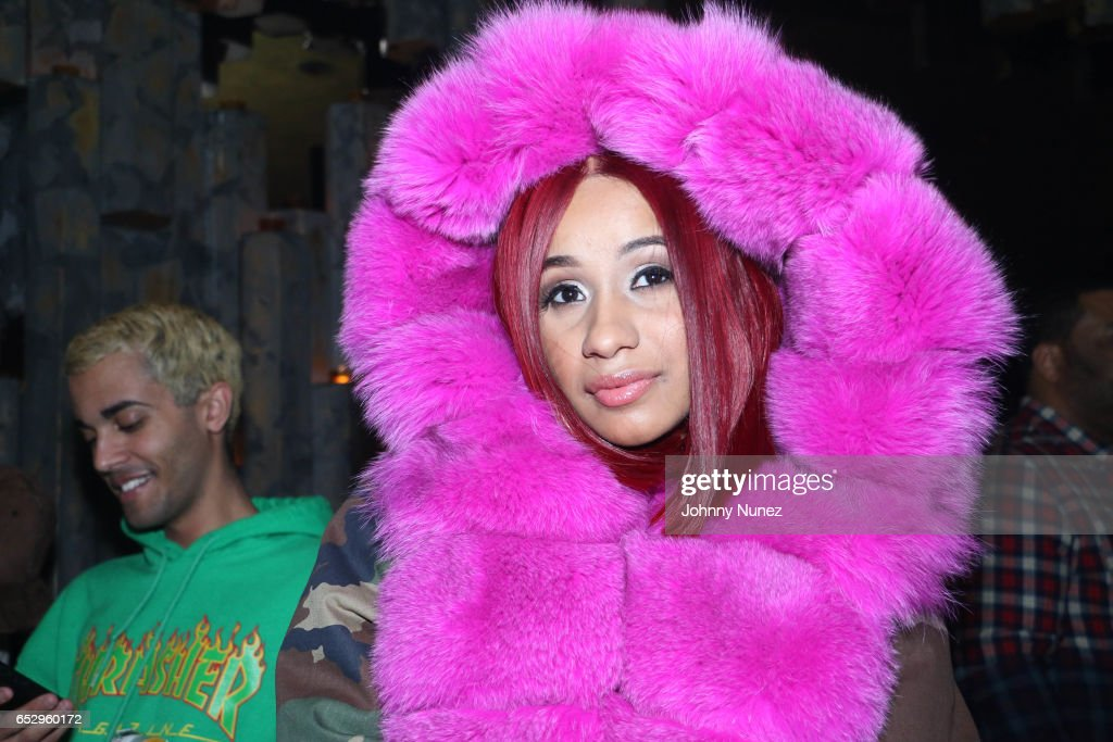Cardi B attends Tanduay After Party With Cardi B And Dave East at The Griffin on March 12, 2017 in New York City.