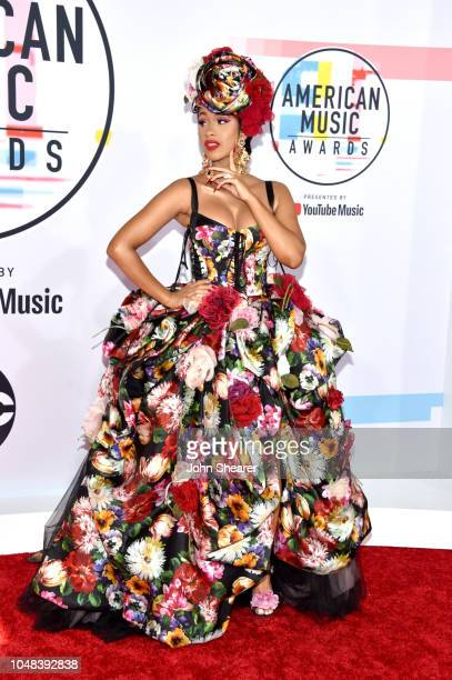 Cardi B attends the 2018 American Music Awards at Microsoft Theater on October 9 2018 in Los Angeles California