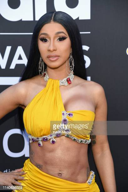 Cardi B attends the 2019 Billboard Music Awards at MGM Grand Garden Arena on May 1 2019 in Las Vegas Nevada