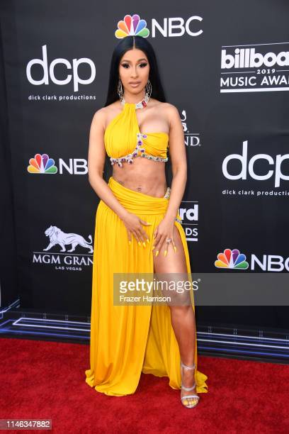 Cardi B attends the 2019 Billboard Music Awards at MGM Grand Garden Arena on May 01, 2019 in Las Vegas, Nevada.
