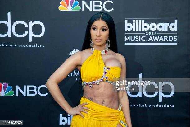 Cardi B attends the 2019 Billboard Music Awards at MGM Grand Garden Arena on May 1, 2019 in Las Vegas, Nevada.