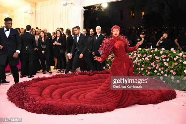 Cardi B attends The 2019 Met Gala Celebrating Camp: Notes on Fashion at Metropolitan Museum of Art on May 06, 2019 in New York City.
