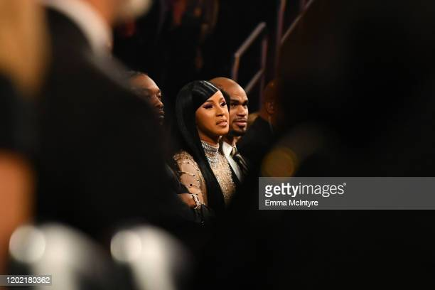 Cardi B attends the 62nd Annual GRAMMY Awards at STAPLES Center on January 26 2020 in Los Angeles California