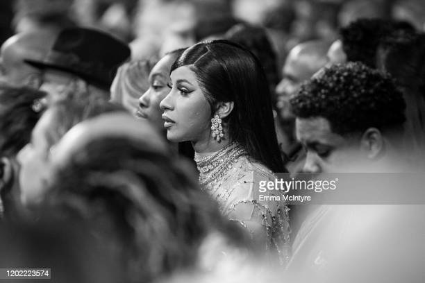 Cardi B attends the 62nd annual GRAMMY Awards on January 26 2020 in Los Angeles California