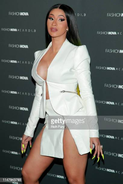 Cardi B attends the Fashion Nova x Cardi B Collection Launch Party at Hollywood Palladium on May 08 2019 in Los Angeles California