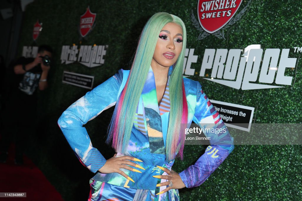 "Swisher Sweets Awards Cardi B With The 2019 ""Spark Award"" : News Photo"