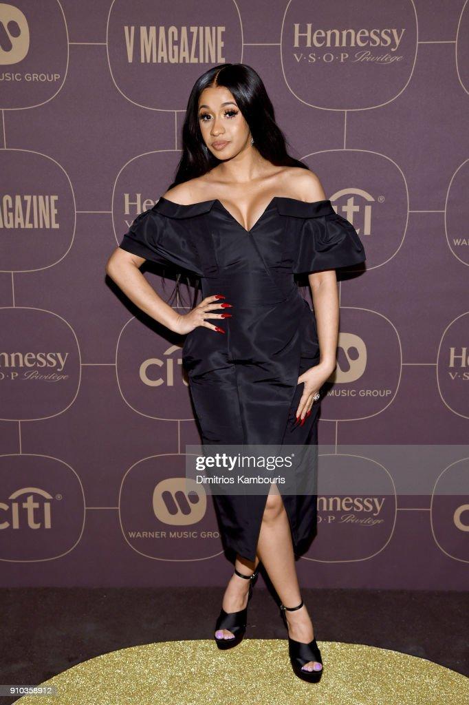 Warner Music Group Hosts Pre-Grammy Celebration In Association With V Magazine - Arrivals