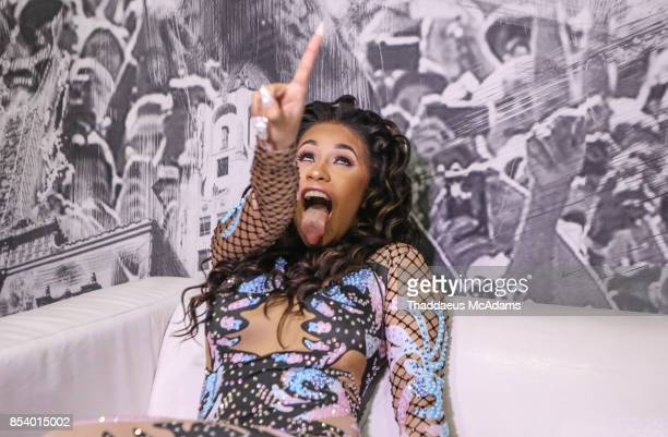 Cardi B backstage at Revolution Live on September 25 2017 in Fort Lauderdale Florida