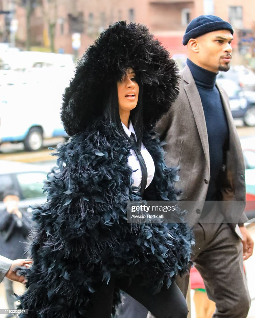 Celebrity Sightings In New York City - December 10, 2019 : News Photo