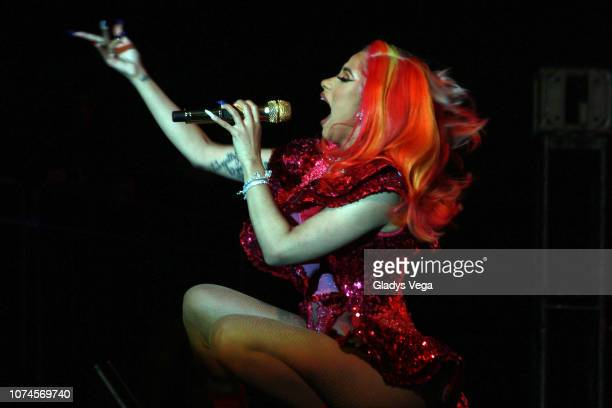Cardi B performs as part of Electric Holiday Concert at Puerto Rico Convention Center on December 21 2018 in San Juan Puerto Rico