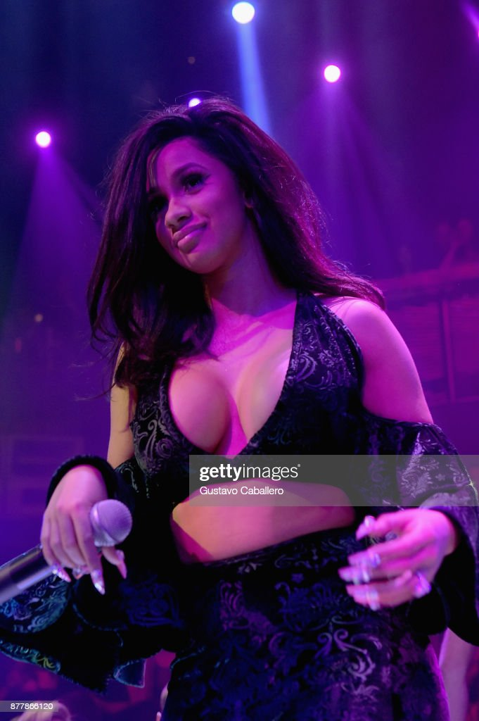 Cardi B performs at E11EVEN on November 22, 2017 in Miami, Florida.