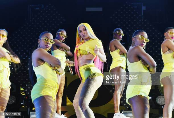 Cardi B performs at Summer Jam 2019 at MetLife Stadium on June 02 2019 in East Rutherford New Jersey