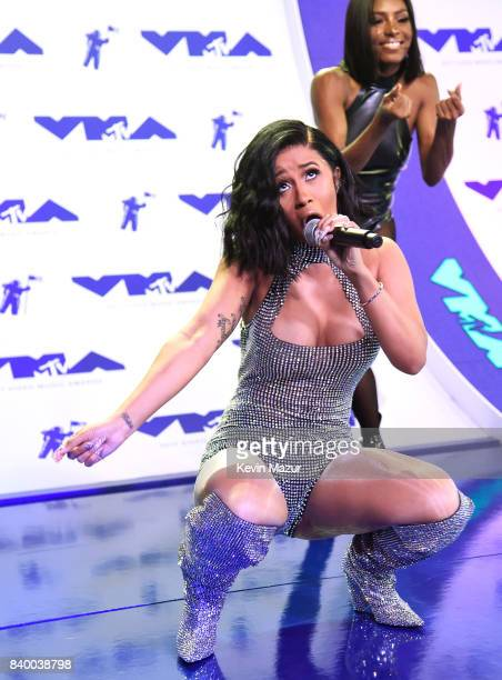 Cardi B performs at the 2017 MTV Video Music Awards at The Forum on August 27 2017 in Inglewood California