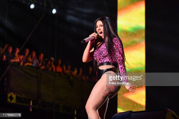 Cardi B performs during Austin City Limits Festival at Zilker Park on October 06 2019 in Austin Texas