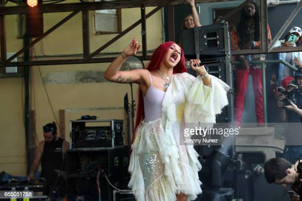 Cardi B performs during Day 9 of the 2017 SXSW Conference And Festivals on March 18 2017 in Austin Texas