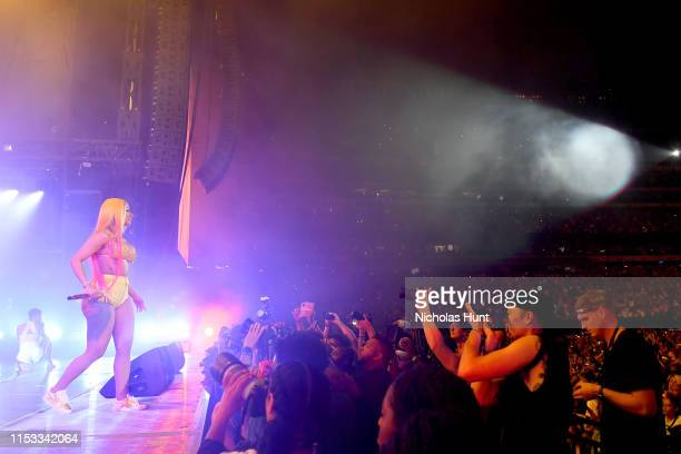 Cardi B performs during Summer Jam 2019 at MetLife Stadium on June 02 2019 in East Rutherford New Jersey