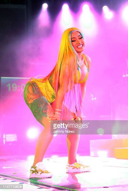 Cardi B performs during Summer Jam 2019 at MetLife Stadium on June 2 2019 in East Rutherford New Jersey