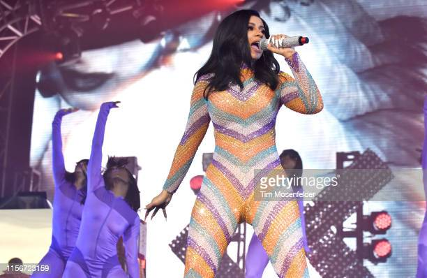 Cardi B performs during the 2019 Bonnaroo Music Arts Festival on June 16 2019 in Manchester Tennessee