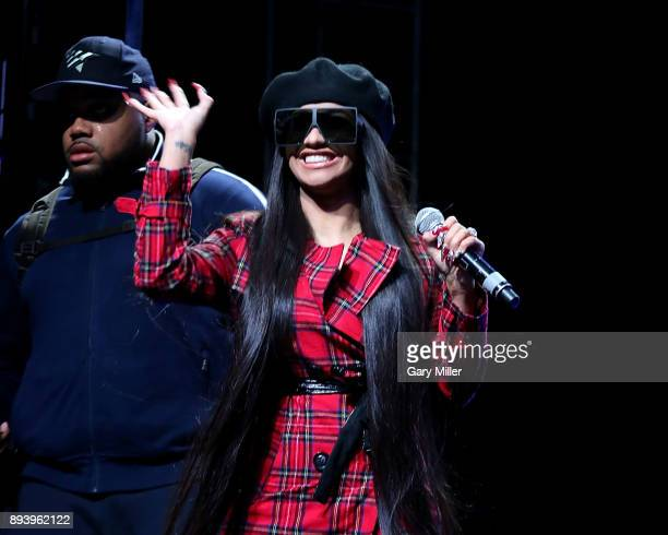 Cardi B performs in concert during Day For Night festival on December 16 2017 in Houston Texas