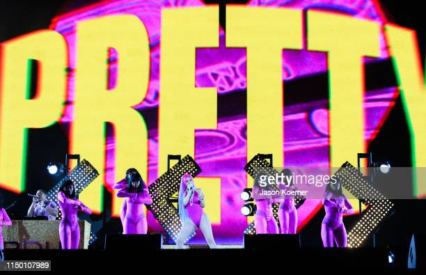 Cardi B performs on day one of Rolling Loud at Hard Rock Stadium on May 10 2019 in Miami Gardens Florida