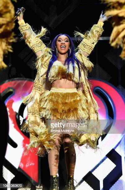 Cardi B performs onstage during 1027 KIIS FM's Jingle Ball 2018 Presented by Capital One at The Forum on November 30 2018 in Inglewood California