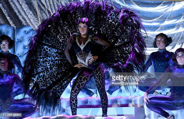 Cardi B performs onstage during the 61st Annual GRAMMY Awards at Staples Center on February 10 2019 in Los Angeles California