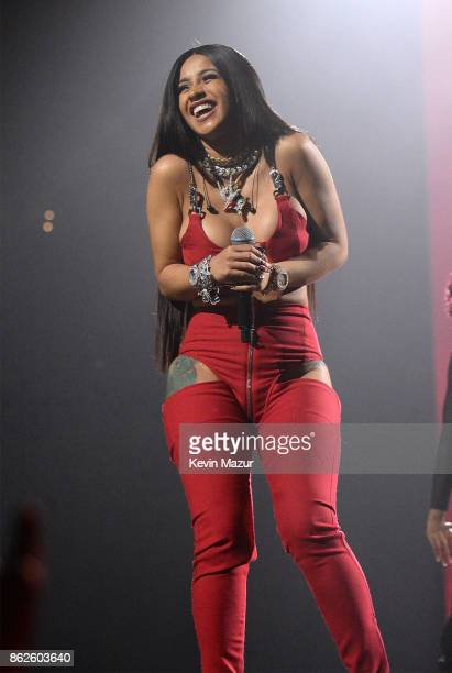 Cardi B performs onstage during TIDAL X Brooklyn at Barclays Center of Brooklyn on October 17 2017 in New York City