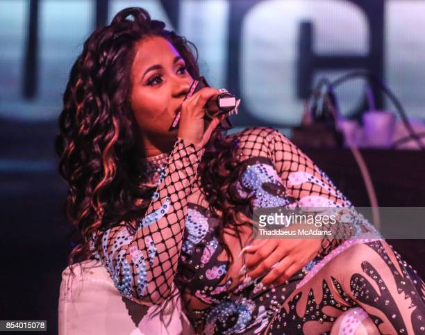 Cardi B sits for an interview at Revolution Live on September 25 2017 in Fort Lauderdale Florida