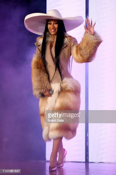 Cardi B speaks onstage at Beautycon Festival New York 2019 at Jacob Javits Center on April 07 2019 in New York City