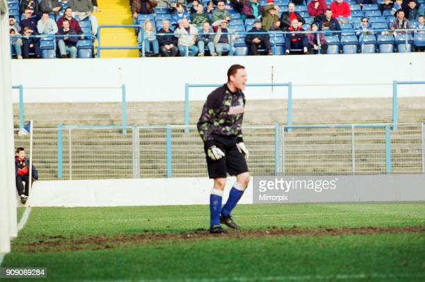 Cardiff 14 Fulham League Division 3 match at Cardiff City Stadium Saturday 9th March 1996 Goalkeeper David Williams in action