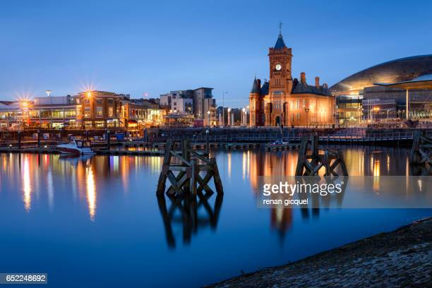 cardiff bay - cardiff wales stock pictures, royalty-free photos & images