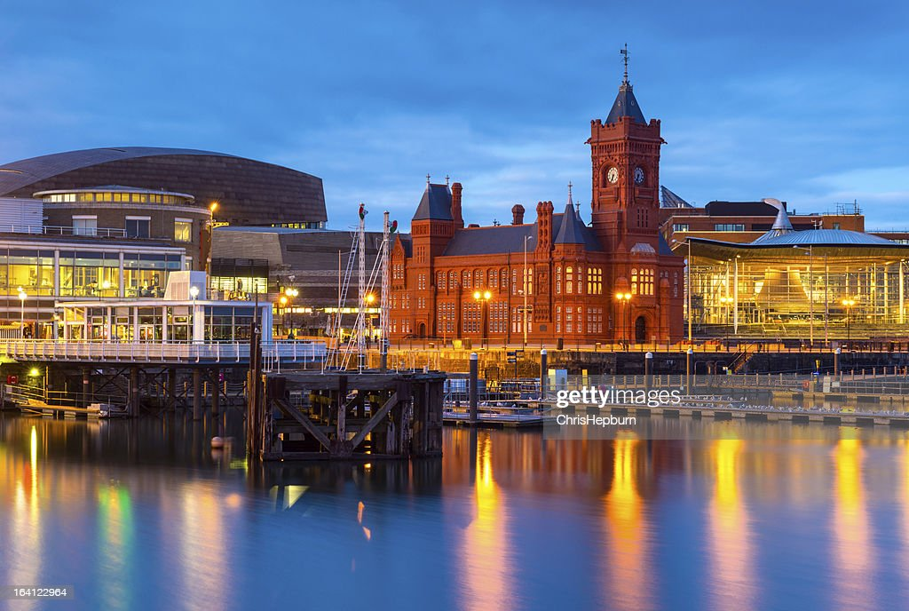 Cardiff Bay, Wales : Stock Photo