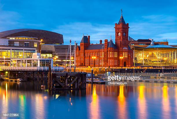 cardiff bay, wales - wales stock pictures, royalty-free photos & images