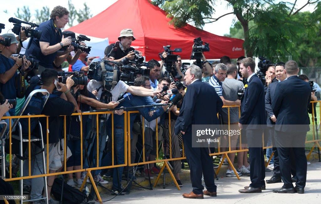Emiliano Sala Funeral : News Photo