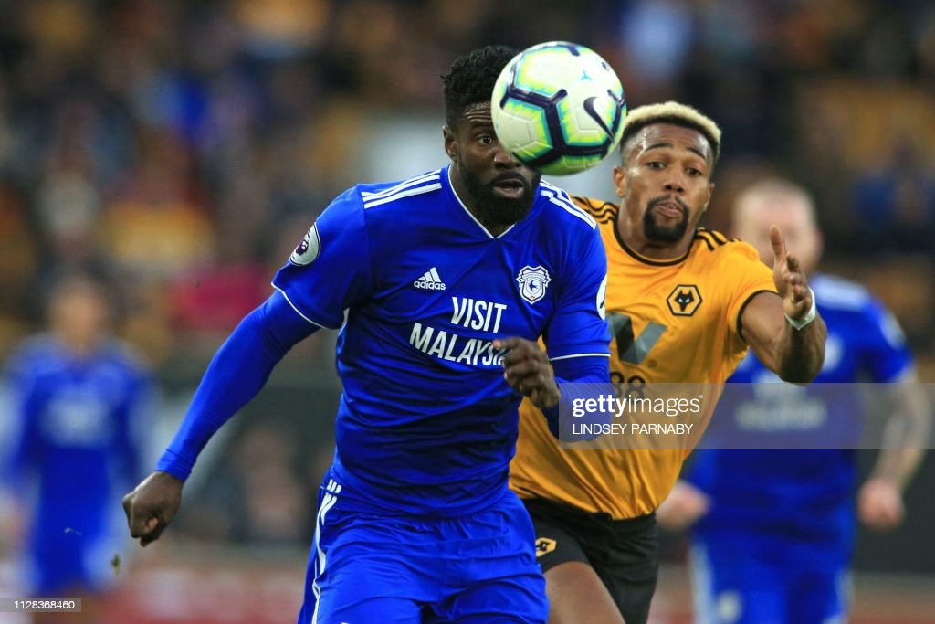 FBL-ENG-PR-WOLVES-CARDIFF : News Photo