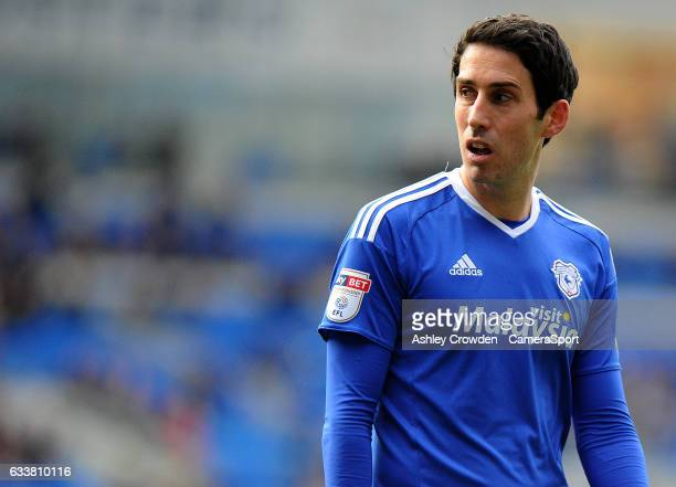 Cardiff City's Peter Whittingham in action during the Sky Bet Championship match between Cardiff City and Norwich City at Cardiff City Stadium on...