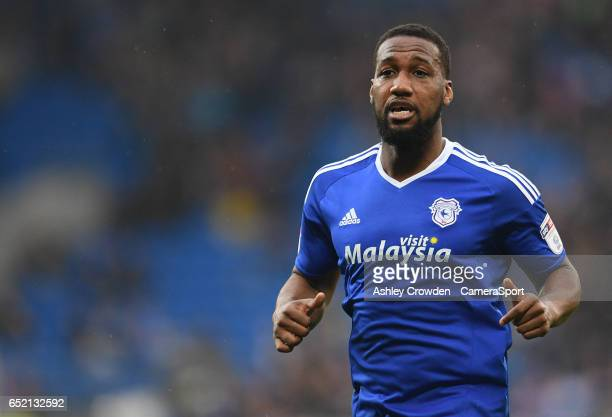 Cardiff City's Peter Whittingham in action during the Sky Bet Championship match between Cardiff City and Birmingham City at Cardiff City Stadium on...