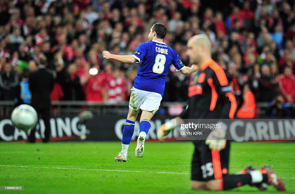 Cardiff City's Scottish footballer Don C : News Photo