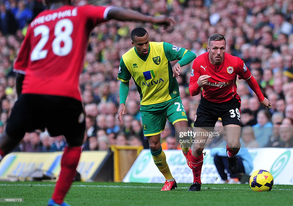 FBL-ENG-PR-NORWICH-CARDIFF : News Photo
