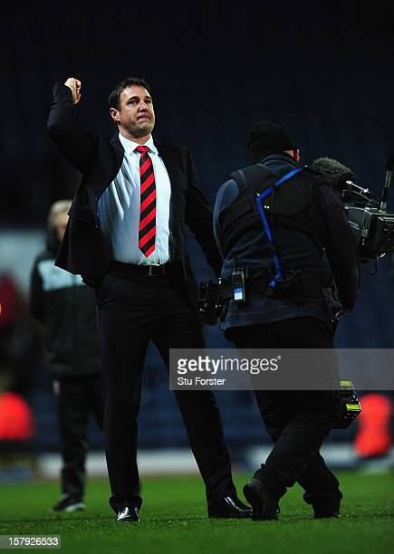 Cardiff manager Malky Mackay reacts after the npower Championship match between Blackburn Rovers and Cardiff City at Ewood park on December 7, 2012...