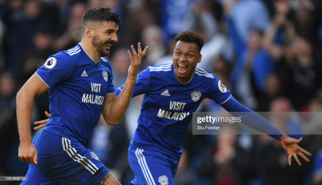 Cardiff City v Fulham FC - Premier League : News Photo