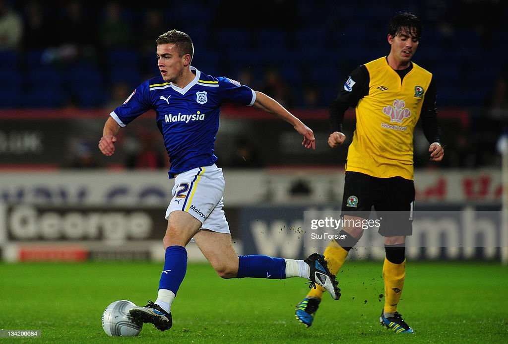 Cardiff City v Blackburn Rovers - Carling Cup Quarter Final : News Photo