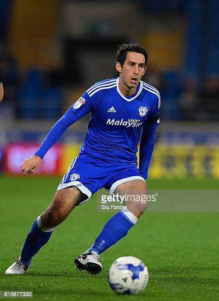 Cardiff player Peter Whittingham in action during the Sky Bet Championship match between Cardiff City and Sheffield Wednesday at Cardiff City Stadium...