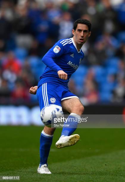 Cardiff player Peter Whittingham in action during the Sky Bet Championship match between Cardiff City and Nottingham Forest at Cardiff City Stadium...