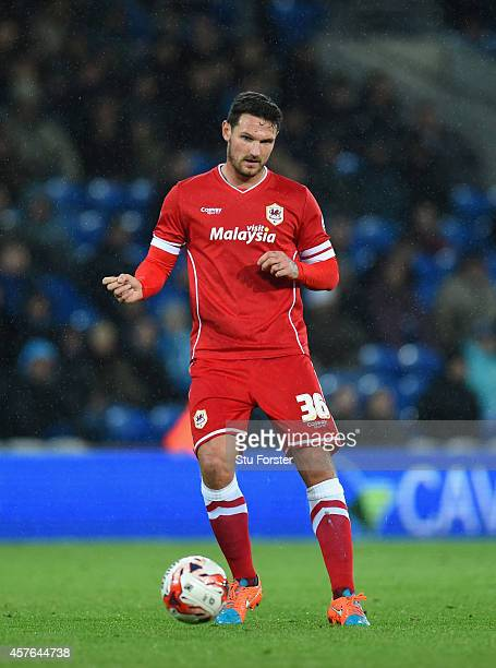 Cardiff player Sean Morrison in action during the Sky Bet Championship match between Cardiff City and Ipswich Town at Cardiff City Stadium on October...