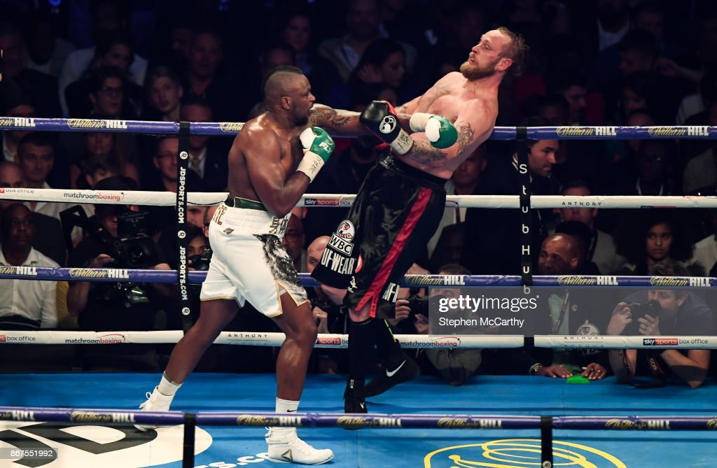 Anthony Joshua v Carlos Takam - World Heavyweight Title Fight : News Photo